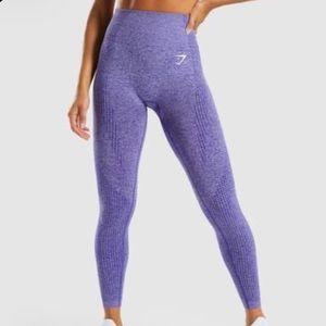 gymshark proper purple vital seamless leggings